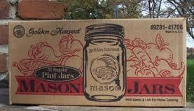 Canning Mason Jars NEW by the case