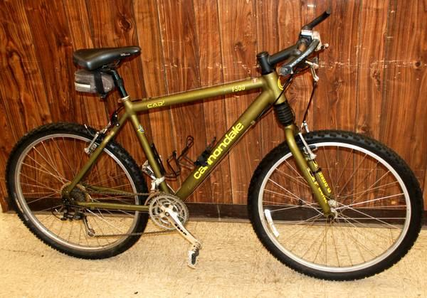Cannondale F500 Cad2 24 Speed Bicycle For Sale In Dayton