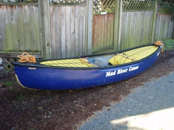 Canoe Solo Mad River Outrage For Sale In Point Roberts