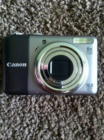CANON CAMERA AND ACCESORIES - $60