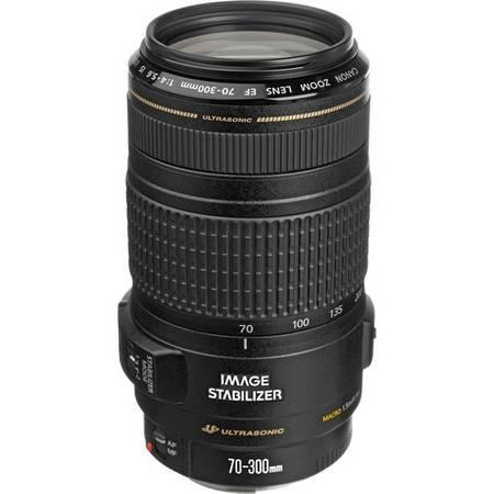 Canon EF 70-300mm f/4-5.6 IS USM Lens - $400