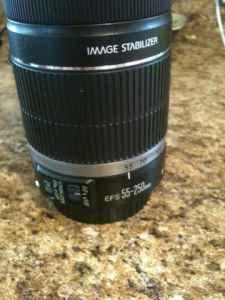 Canon efs 55-250 is - $215 (Decatur)