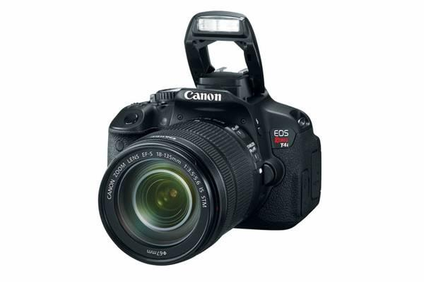 Canon EOS Rebel T4i With Kit Lens and 50mm 1.8 - $600