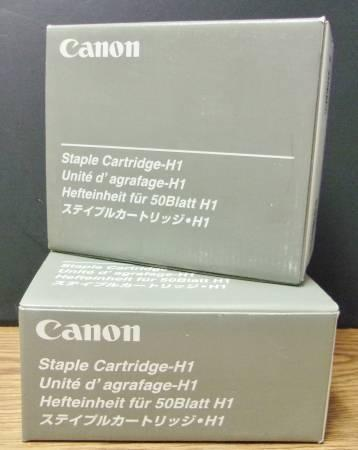 Canon G1 & H1 Staple Cartridges - New In Box