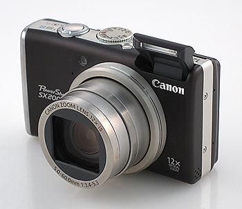 Canon SX200IS digital camera