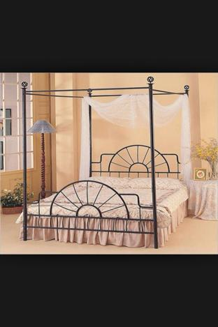 Canopy Bed Frame That Adjust To Full Or Queen..