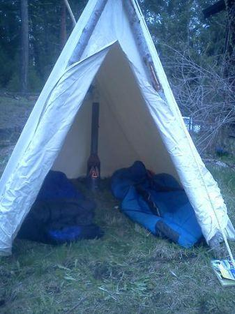 Canvas Wall Tent - (Missoula) for Sale in Missoula, Montana