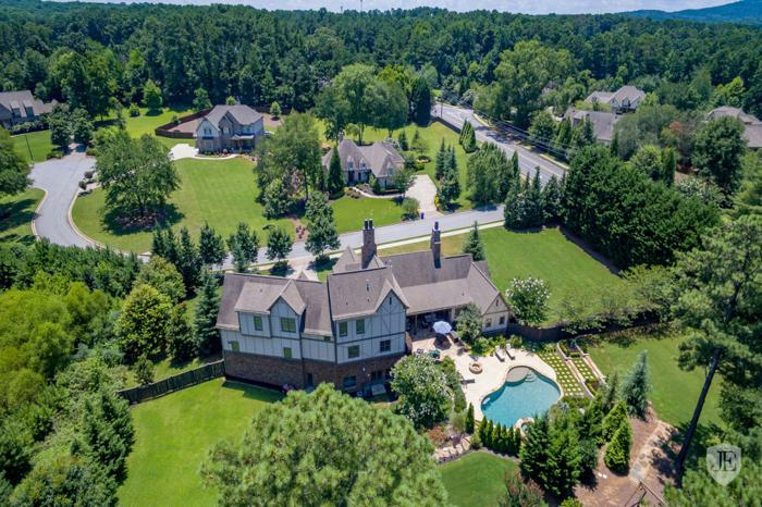 Captivating French Country Style on 1.2 +/- Acres with