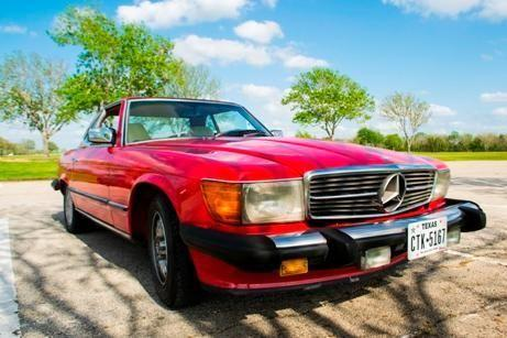 Car for sale cars for sale 1984 mercedes benz 280sl for Mercedes benz for sale in houston