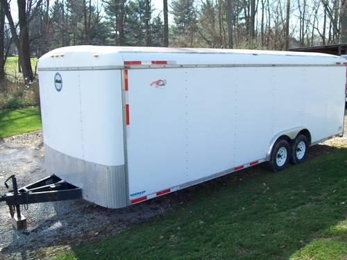 Car Hauler 24 x 8 Enclosed