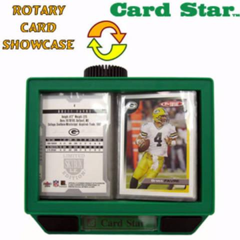 CARD STAR - ROTARY CARD SHOWCASE - GREAT GIFT ANY TIME!