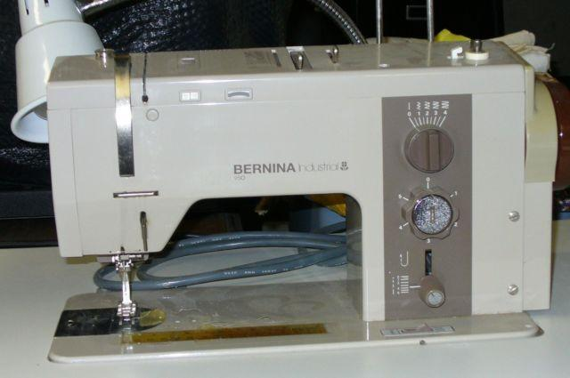 Carefully Used Bernina 40 Industrial Sewing Machine On Wheels For Amazing Bernina Used Sewing Machines For Sale