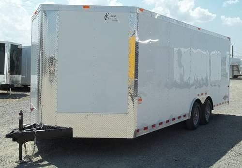 Cargo Craft Dragster Series Enclosed Trailers