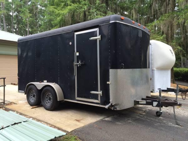 Cargo Trailer for sale 14'x7' heavy duty - $2800
