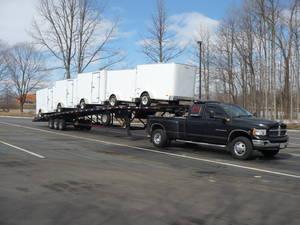 Cargo Utility Trailer 5th Wheel Travel Trailer Transport Moving