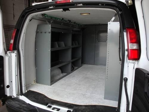 CARGO VAN SHELVING, VAN LADDER RACKS