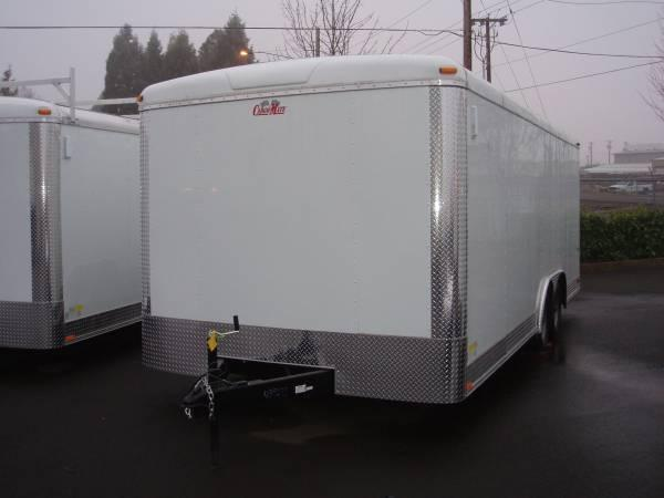 Cargomate 8 5 X 20 Enclosed Car Hauler Trailer 7 000 Gvrw