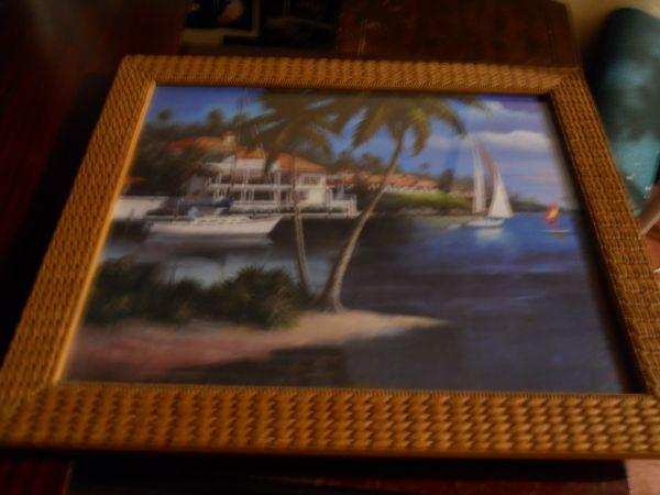 Caribbean Framed Wall Picture Duluth Mn For Sale In Duluth Minnesota Classified