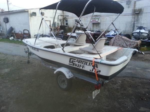 carolina skiff j12 with trailer cheap for sale in