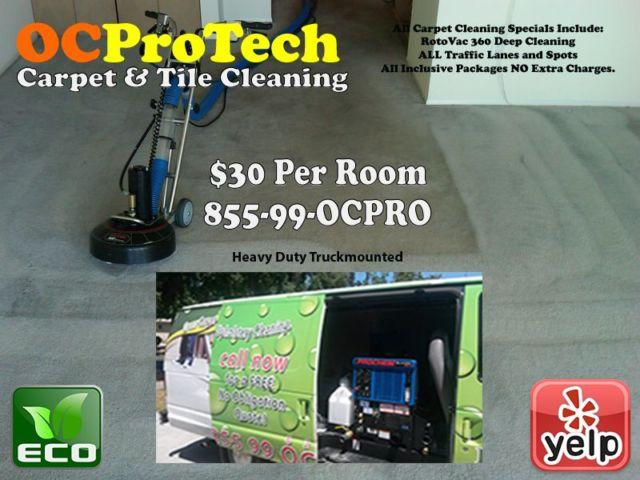 Carpet, Tile, & Upholstery Cleaning