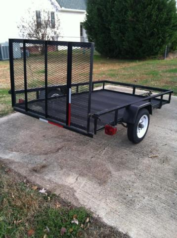 Carry On Trailer 5 Ft X 8 Ft Wire Mesh Utility Trailer