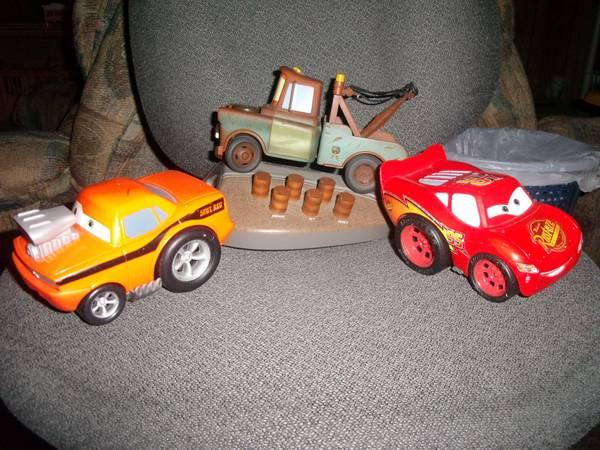 All American Auto Sales Kingsport Tn: Cars Toys From The Movie. Lightning McQueen,Tow Mater,Snot