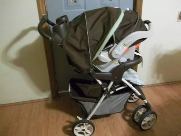 Carseat and Stroller combo - $60