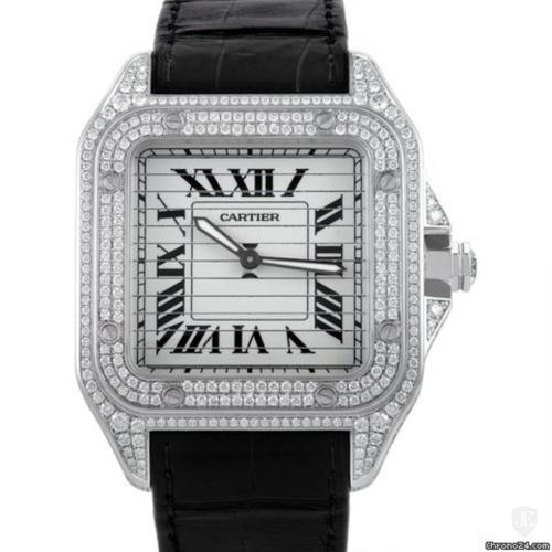 Cartier Santos Triple 100 Mens Manually Wound Automatic