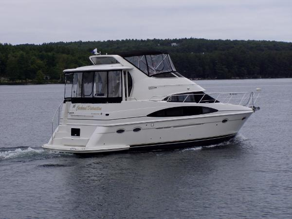Carver 396 motor yacht for sale in dania florida for Boat motors for sale in florida