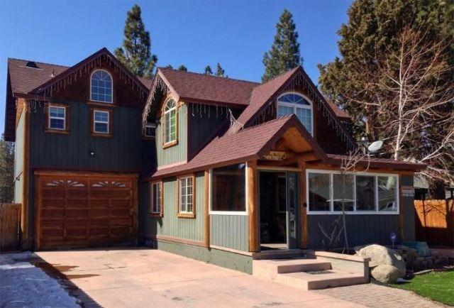 Casa bella four br four ba cabin in big bear lake big for Cabin rentals big bear lake ca