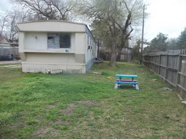 Casa mobil con terreno for sale in houston texas for Case con scantinati in texas