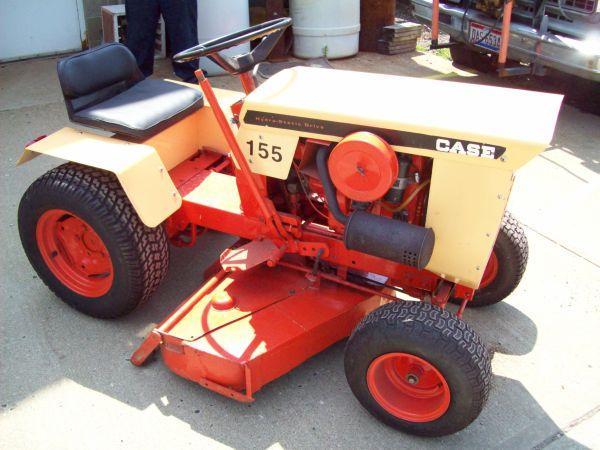 Case 155 Garden Tractor Wintersville Oh For Sale In