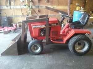 Case Ingersoll Loader Lawn Tractor Taklequah Ok For