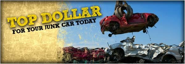 Cash for Junk Cars, $200.00