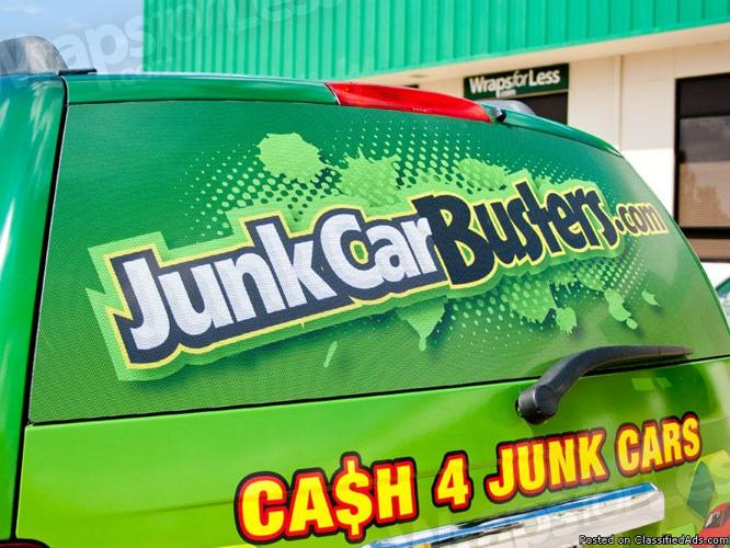 Cash for Junk Cars (JunkCarBusters) Junk Car Removal in