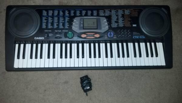 feedb036131 Casio CTK-531 61-Key Electronic Keyboard with Cord - for Sale in ...