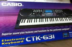 Casio Keyboard CTK-631 - $90