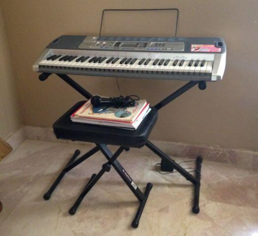 Casio lk 100 keyboard stand bench for sale in miami florida classified Keyboard stand and bench
