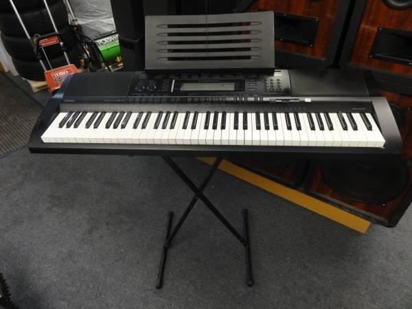 Casio Wk 500 Keyboard : casio wk 500 76 key personal keyboard w mp3 audio connection stand for sale in new bedford ~ Hamham.info Haus und Dekorationen