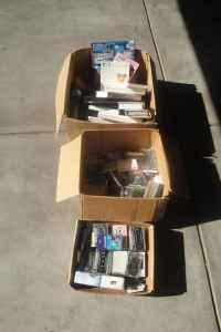 Cassette tapes, VHS, more - $10 Commerce City