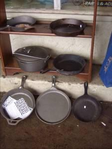cast iron cookware used new garland furniture antiques etc for sale in jackson. Black Bedroom Furniture Sets. Home Design Ideas