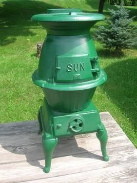 cast iron pot belly stove for sale in aberdeen pennsylvania classified. Black Bedroom Furniture Sets. Home Design Ideas
