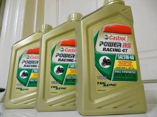 Castrol Full Synthetic Motorcycle Oil 'Power RS Racing