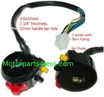 Cat-eye FS529 X7 2stroke 49cc pocket bike Wire Harness