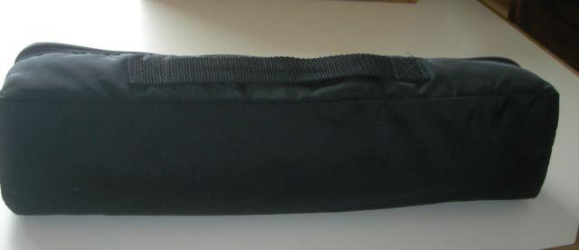 Cavallaro flute case cover in like-new condition; oak