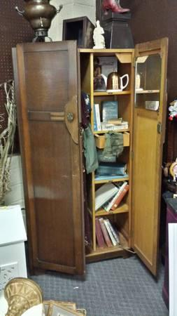 CC41 WWII Utility Furniture Armoire From 1940u0027s   $900