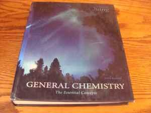 CCAC General Chemistry:The Essential Concepts, 5th ed.,