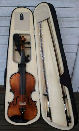 CECILIO FULL SIZED VIOLIN - $85