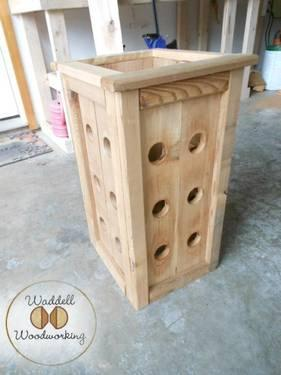 ***CEDAR STRAWBERRY PLANTER***