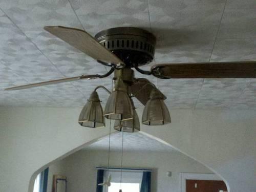 Ceiling Fan Cloth Window Coverings Hunter Green Rca